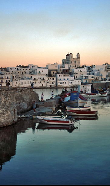 paros greece - Kandiani Bleu Ciel