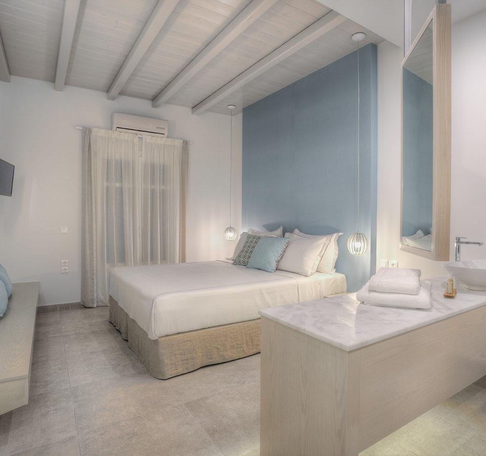 Deluxe δωμάτια στην Πάρο - Kandiani Bleu Ciel